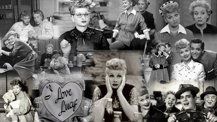 I LOVE LUCY comedy family sitcom television i-love-lucy collage wallpaper