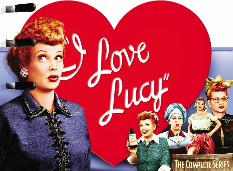 I Love Lucy Comedy Family Sitcom Television Poster Wallpaper