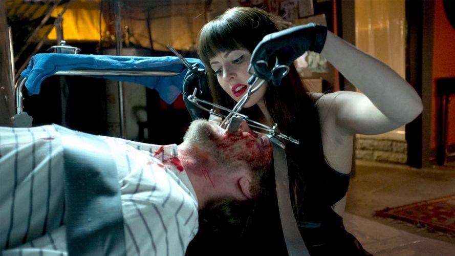 AMERICAN MARY horror thriller dark movie film blood wallpaper