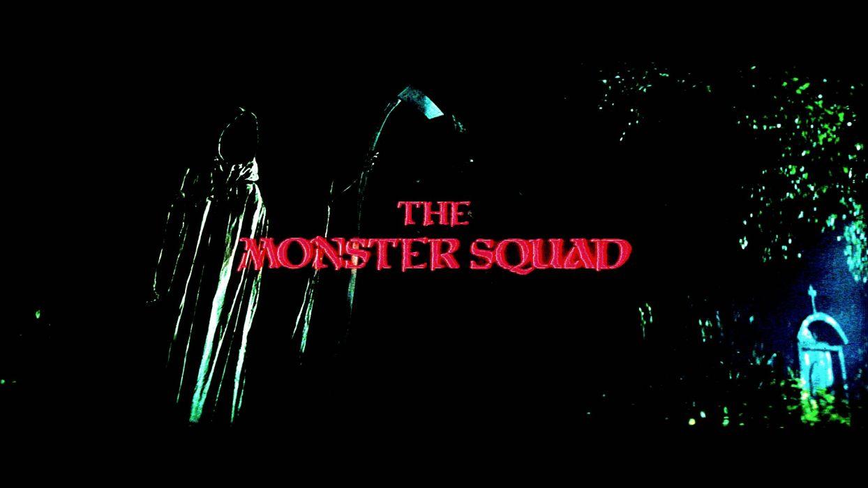 MONSTER SQUAD action comedy fantasy horror dark reaper poster wallpaper