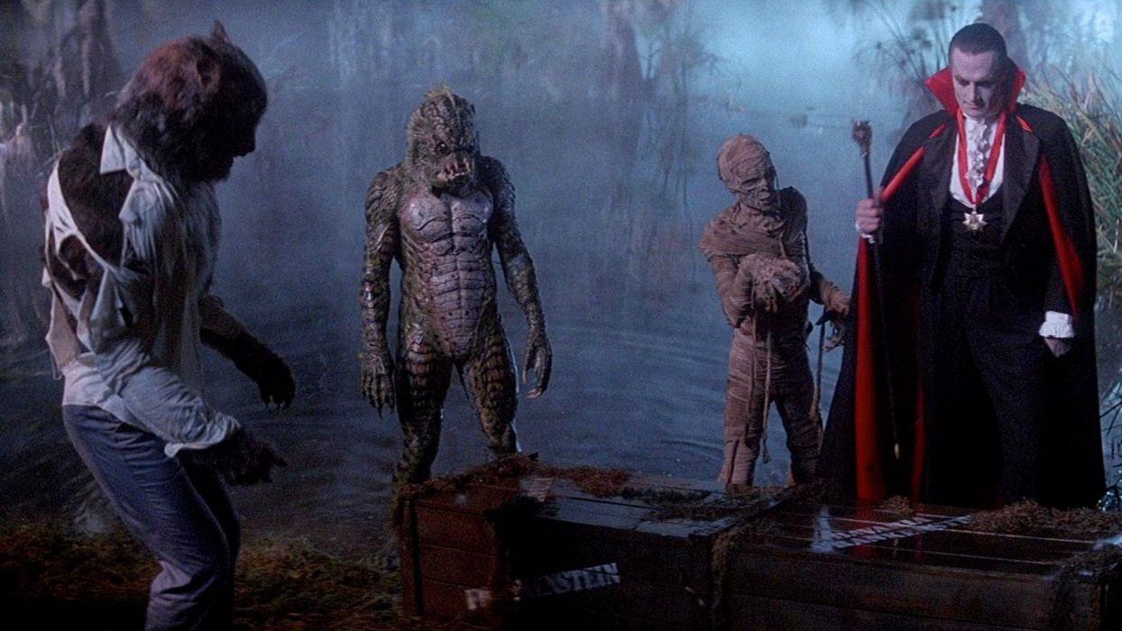 MONSTER SQUAD action comedy fantasy horror dark vampire werewolf halloween monster wallpaper