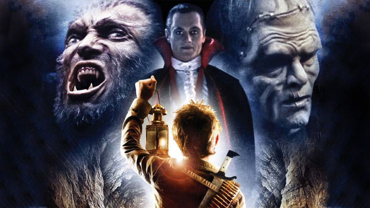 MONSTER SQUAD action comedy fantasy horror dark poster halloween wallpaper