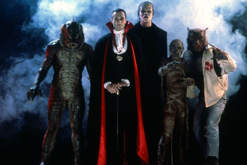 MONSTER SQUAD action comedy fantasy horror dark monster vampire werewolf halloween wallpaper