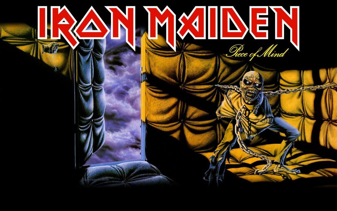 Iron Maiden Heavy Metal Eddie wallpaper