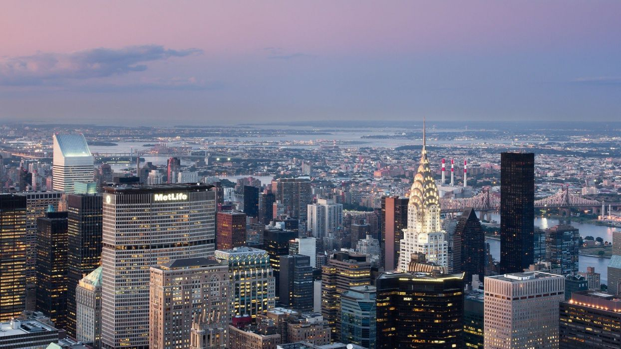 New York City Chrysler Building wallpaper