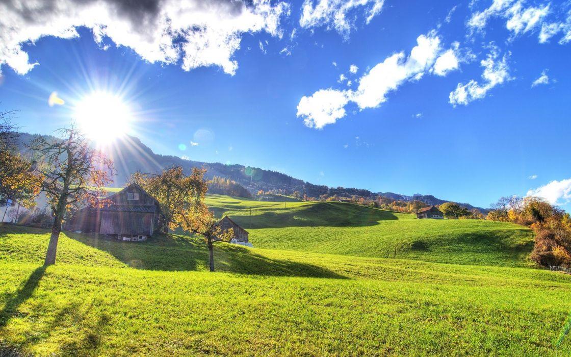 fields hills wallpaper