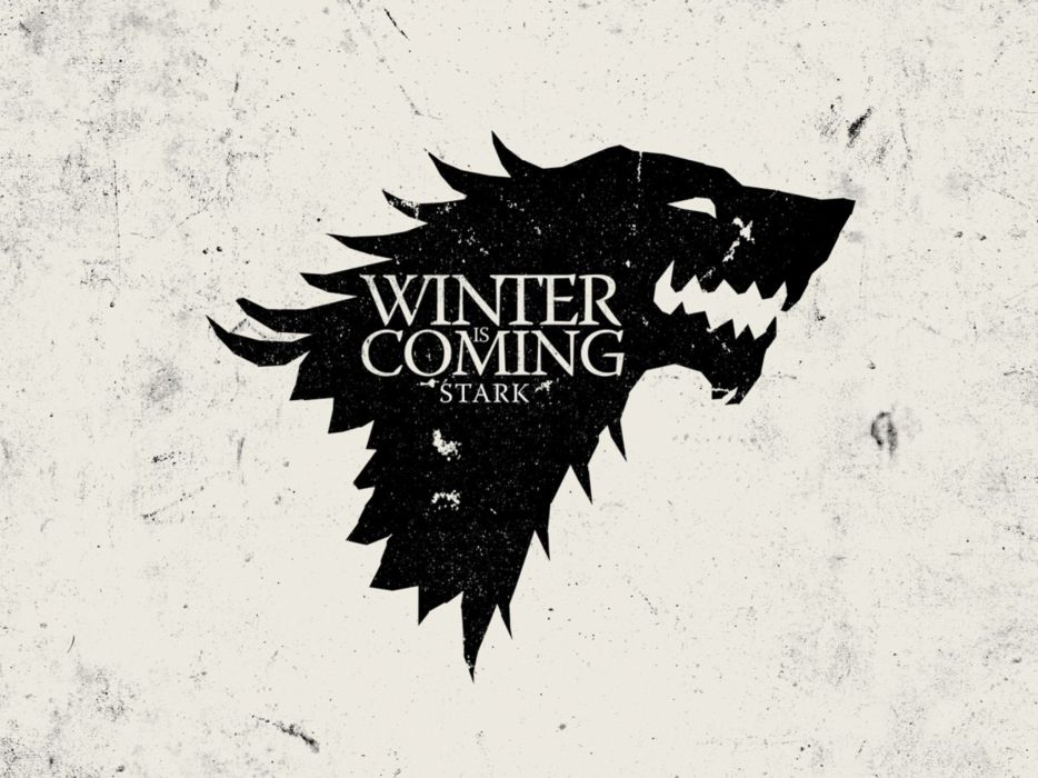 white crest Game of Thrones Winter is Coming direwolf House Stark wolves wallpaper
