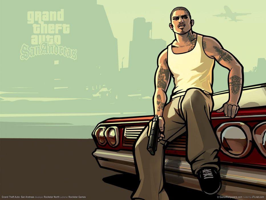 video games Grand Theft Auto GTA San Andreas San Andreas wallpaper