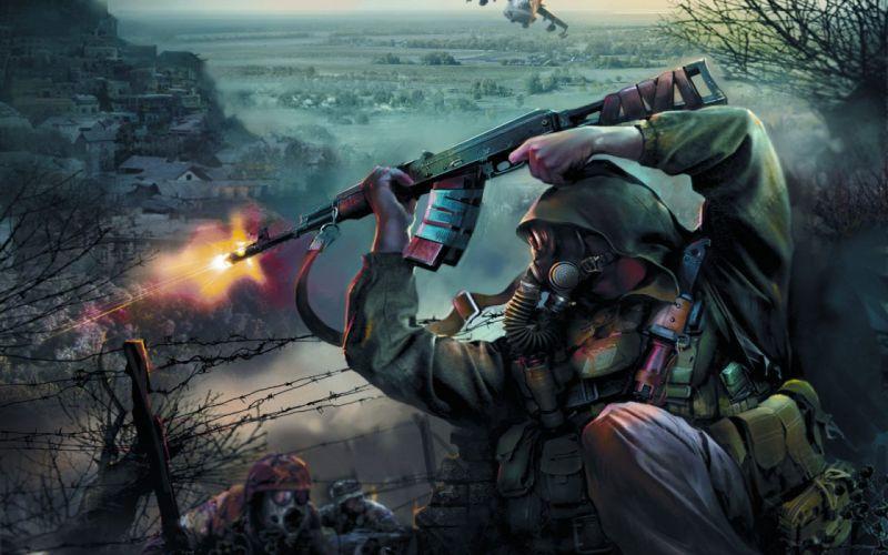 S_T_A_L_K_E_R_ war wallpaper