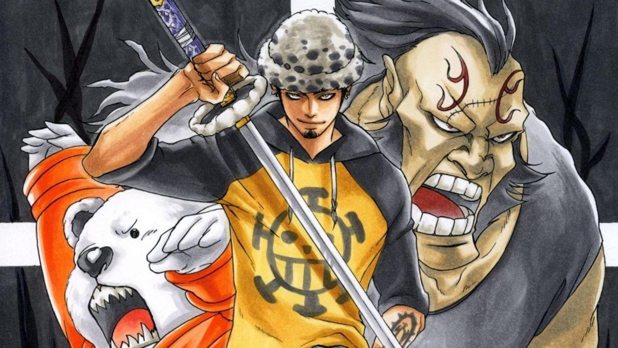 One Piece Anime Trafalgar Law Wallpaper 1920x1080 274499