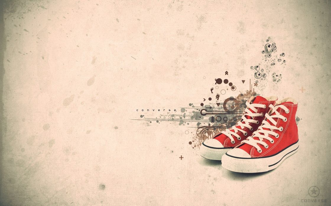 abstract shoes Converse wallpaper