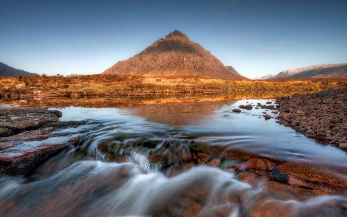 mountains landscapes nature rivers wallpaper