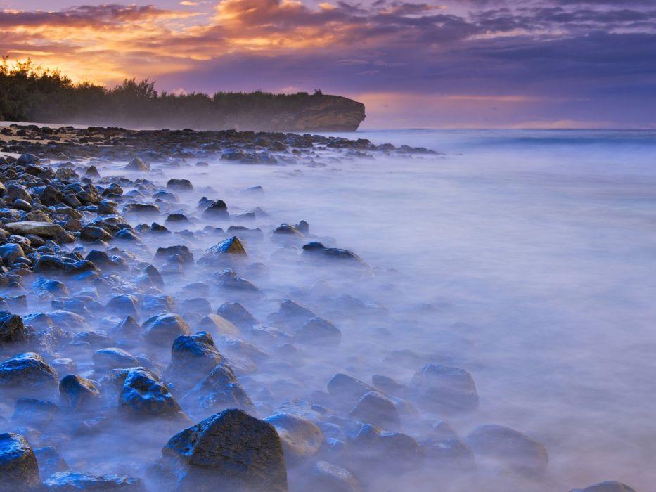 kauai shipwreck beaches wallpaper