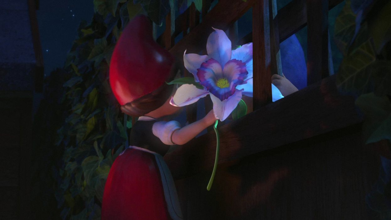 cartoons Gnomeo and Juliet wallpaper