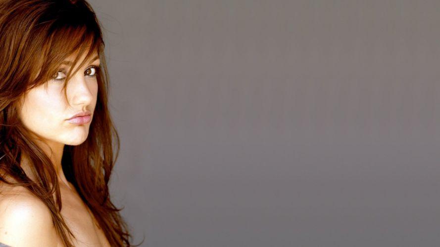 brunettes women actress celebrity Minka Kelly wallpaper