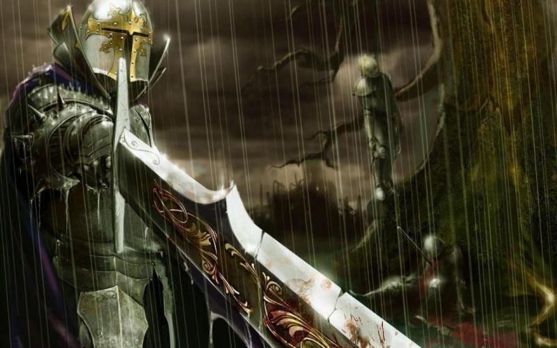 video games knights warriors wallpaper