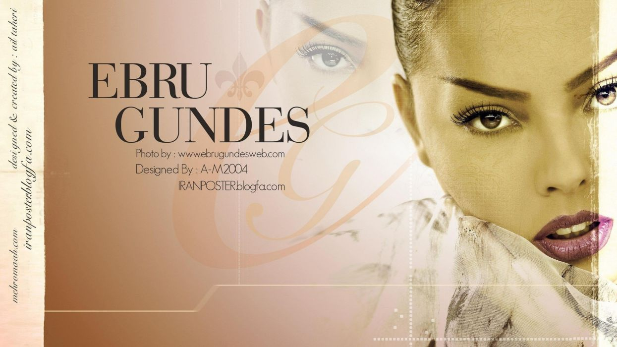 women singers Turkish ebru Gundes wallpaper