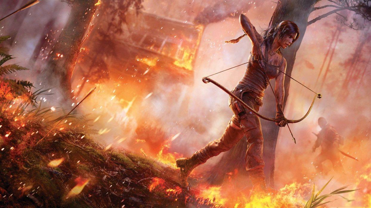 video games Tomb Raider game wallpaper