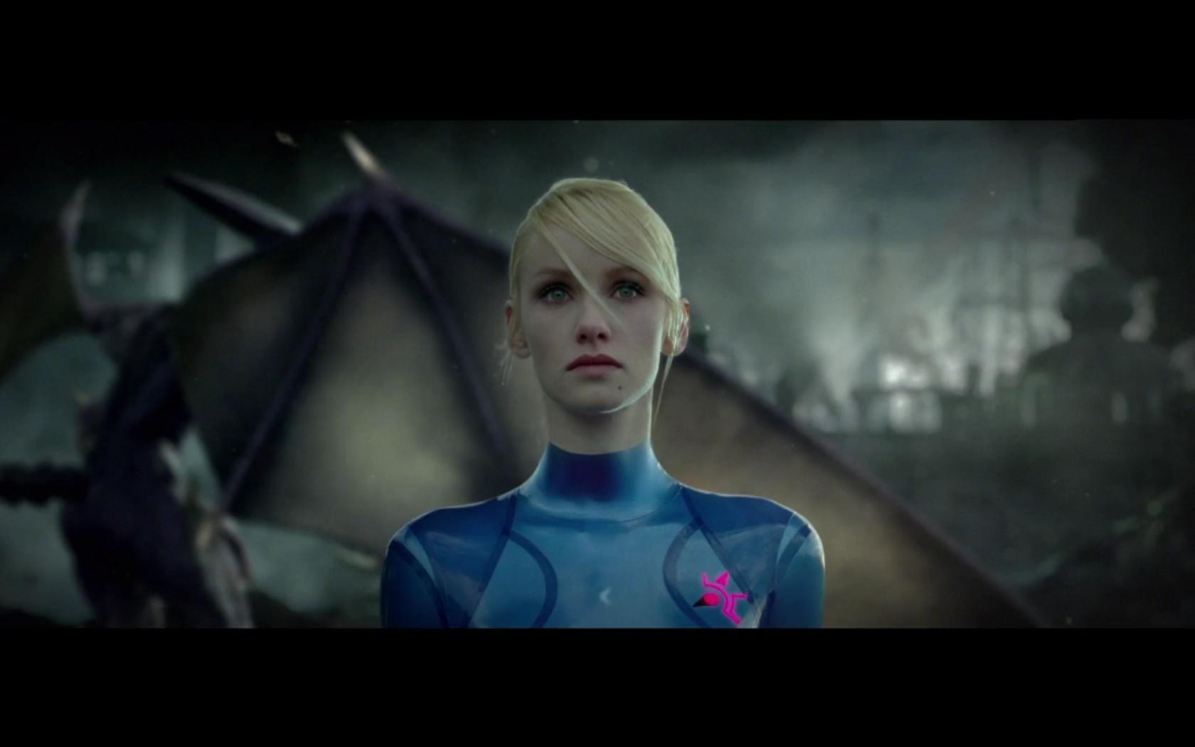 Blondes Metroid Women Cosplay Zero Suit Samus Aran Wallpaper