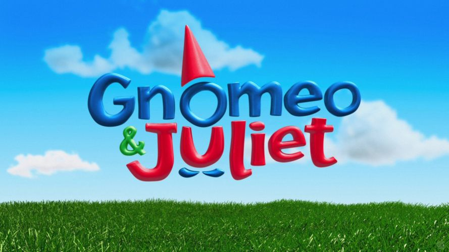 cartoons movie posters Gnomeo and Juliet wallpaper