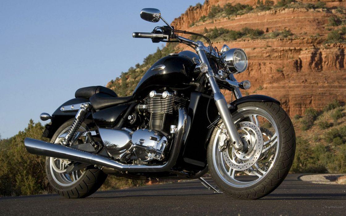 motorbikes Triumph Motorcycles Triumph Thunderbird wallpaper