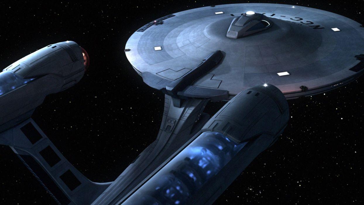 Star Trek spaceships USS Enterprise wallpaper