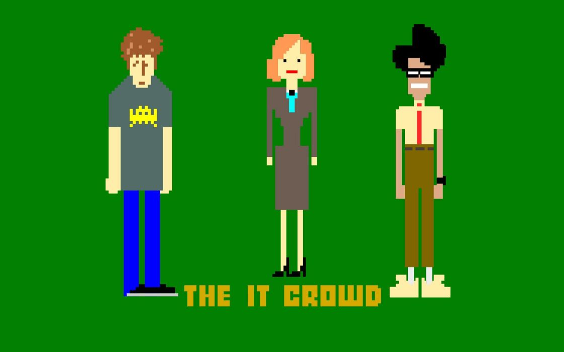 The IT Crowd Maurice Moss wallpaper