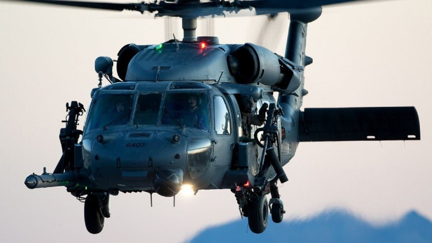 aircraft helicopters Sikorsky aviation HH-60G wallpaper