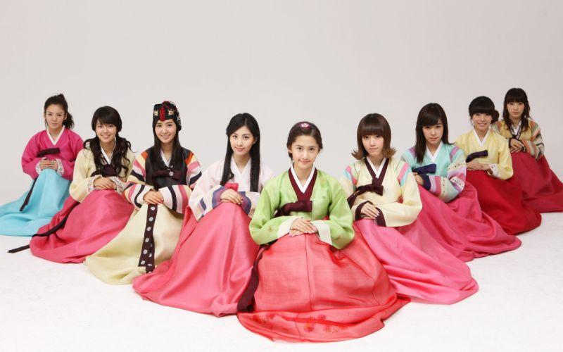 women Girls Generation SNSD celebrity Korean K-Pop Korean clothes wallpaper