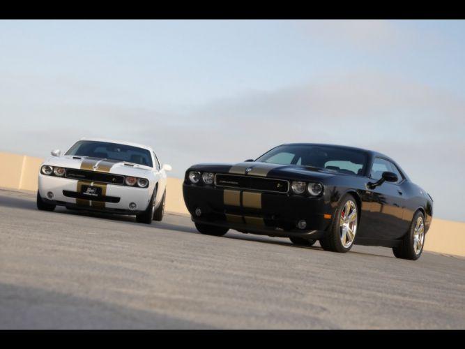 Dodge Challenger hemi Hurst wallpaper