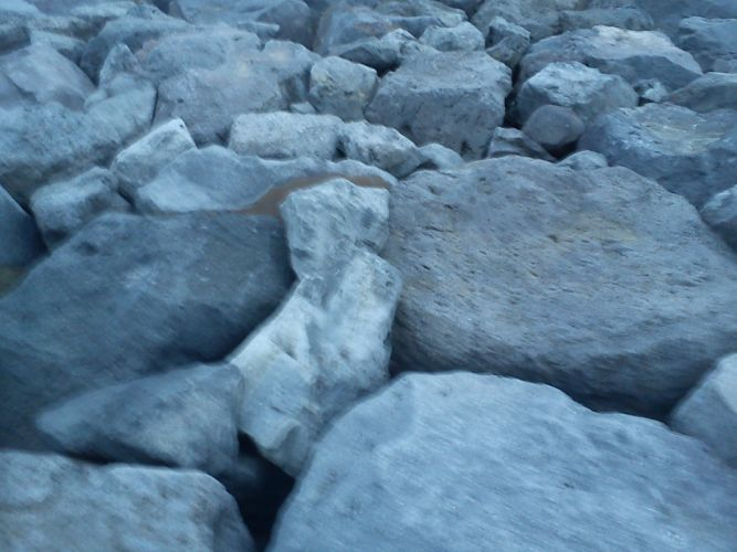 nature rocks boats sea wallpaper