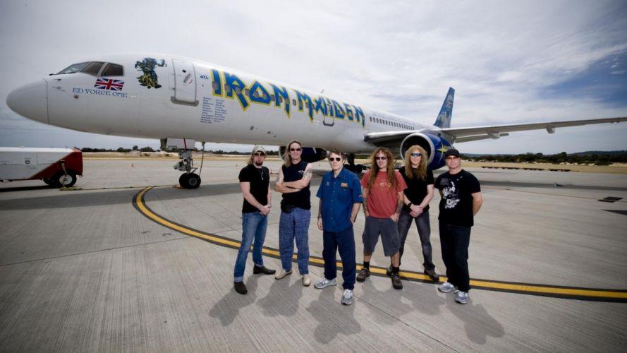 aircraft Iron Maiden wallpaper