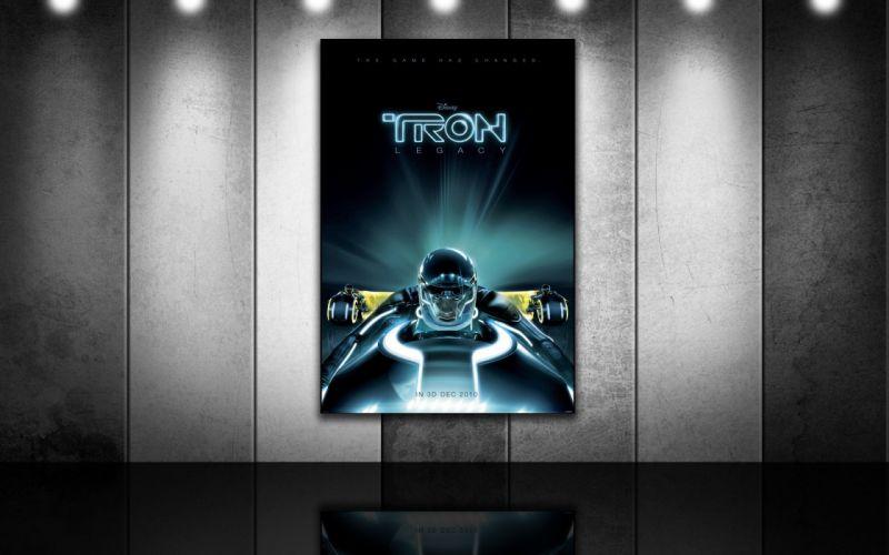 Tron Tron Legacy movie posters wallpaper
