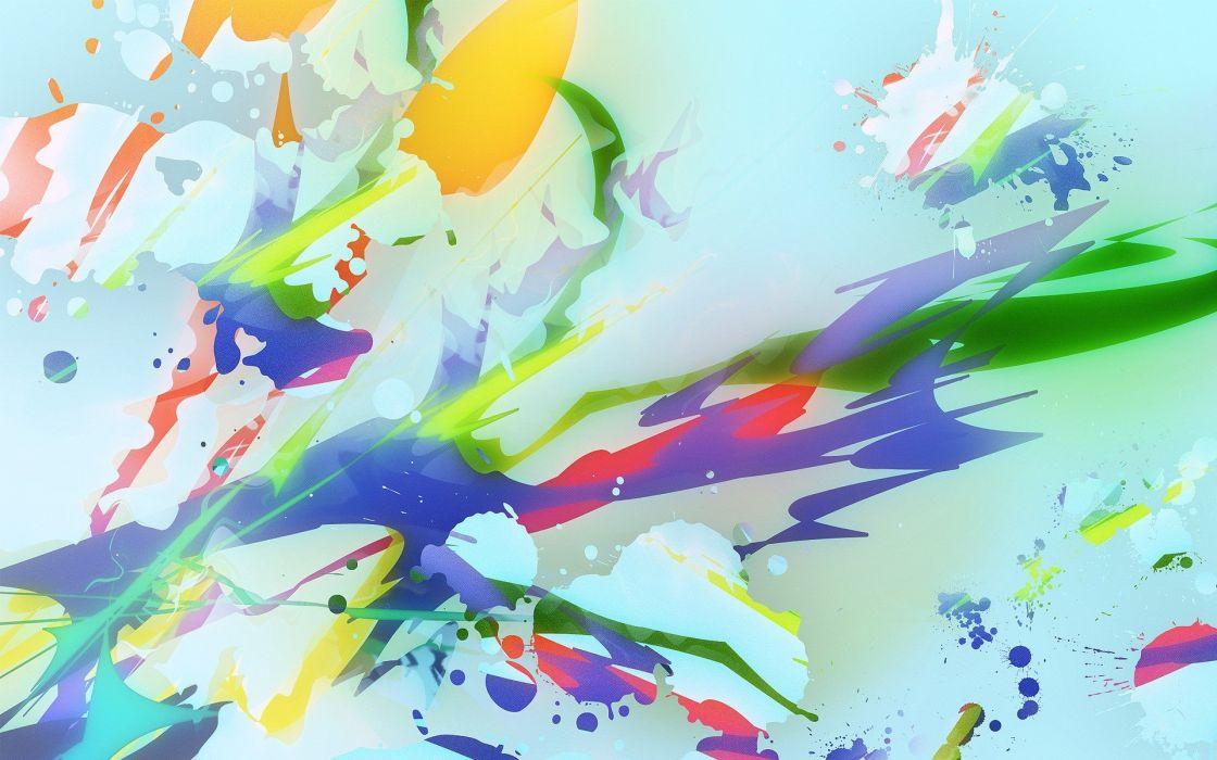 abstract multicolor artwork wallpaper