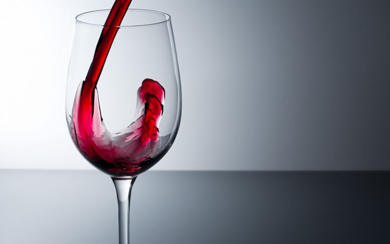 red glass wine simple wallpaper