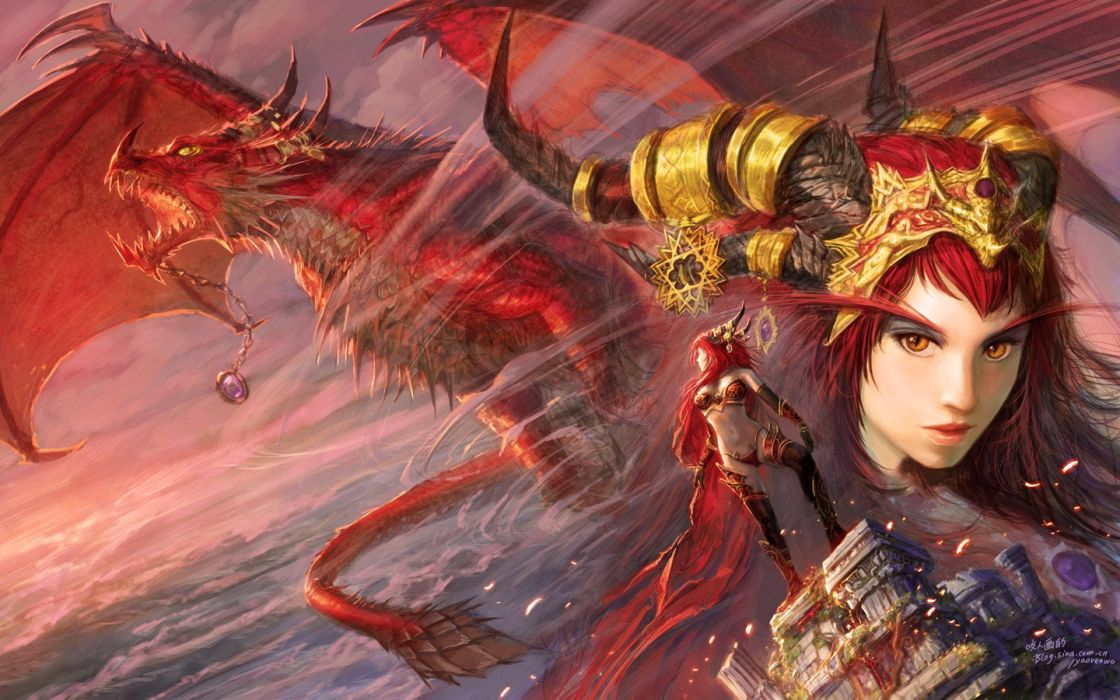 Dragons World Of Warcraft Alexstrasza World Of Warcraft