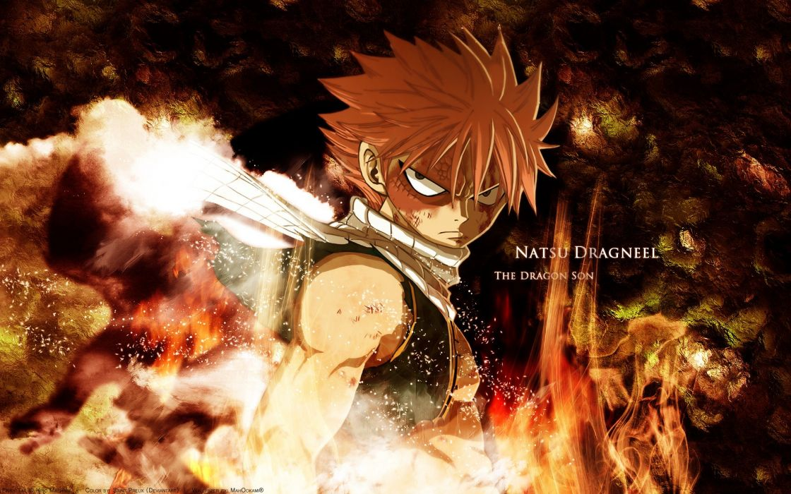 Fairy Tail Dragneel Natsu wallpaper