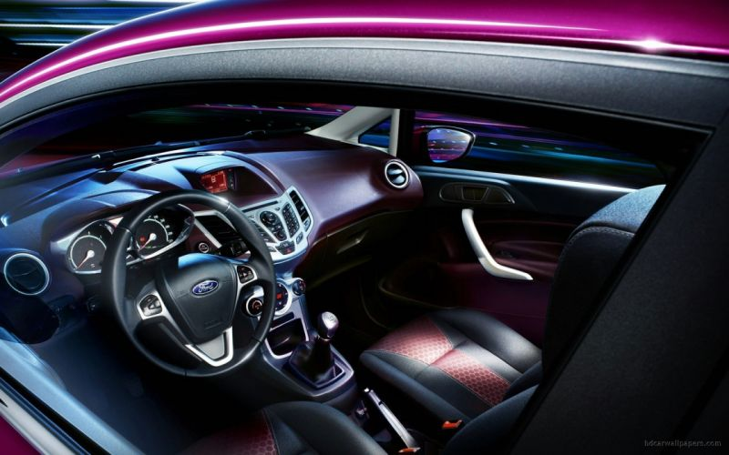 cars Ford interior vehicles Ford Fiesta wallpaper