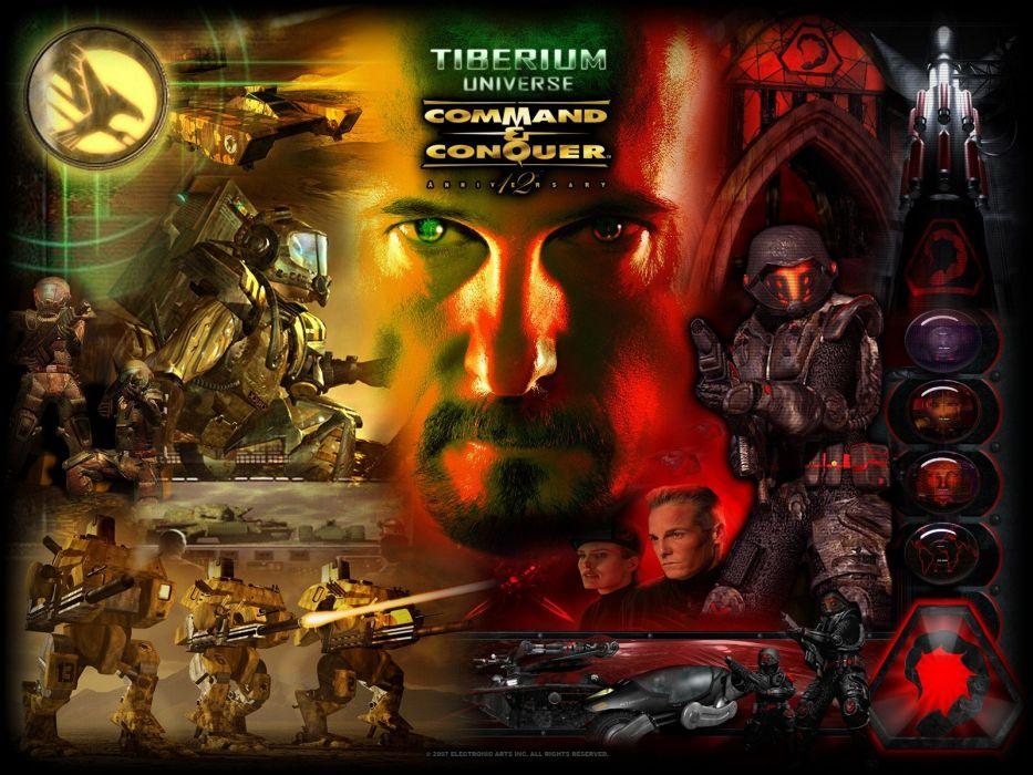 video games Command And Conquer gdi Joseph D_ Kucan Kane Tiberium Nod Tiberian Sun wallpaper