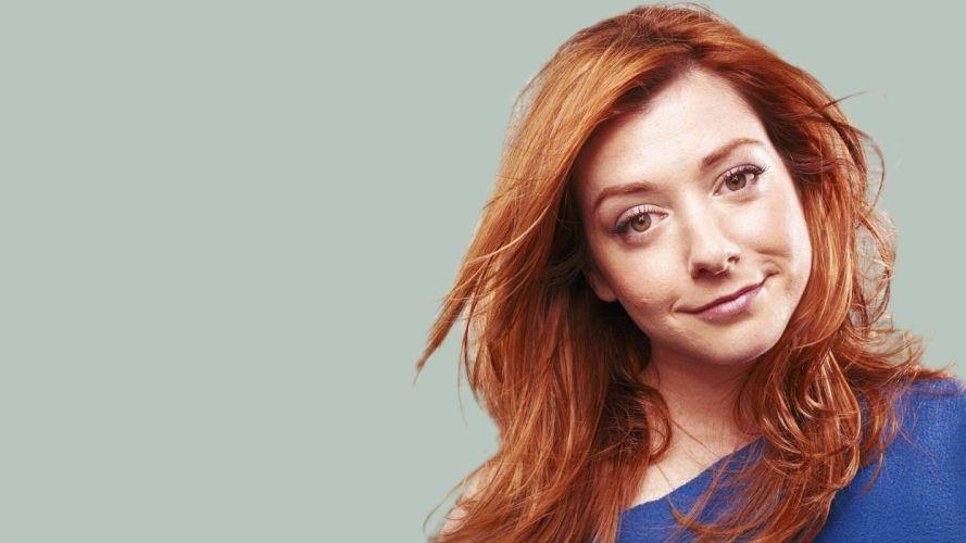 Alyson Hannigan women actress redheads wallpaper