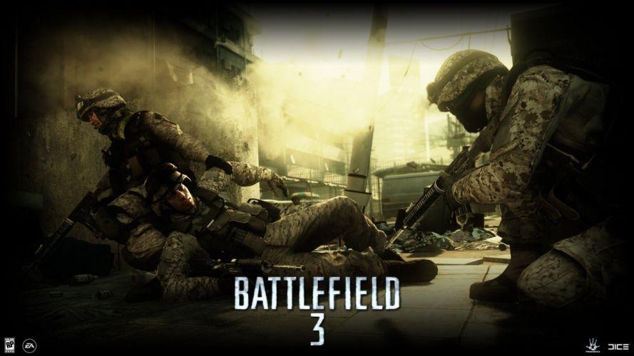 video games Battlefield guns wallpaper