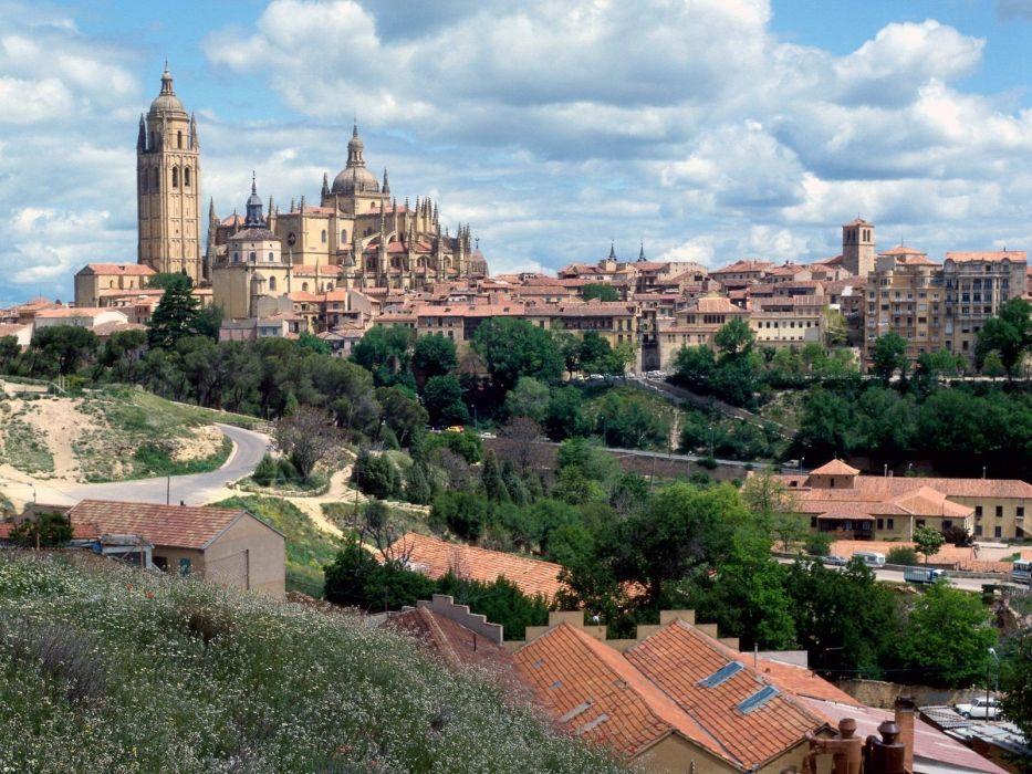 Spain villages wallpaper