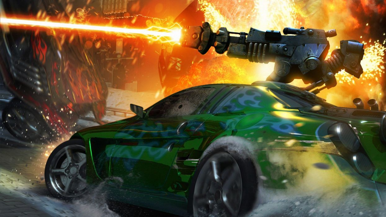 Death Race games wallpaper