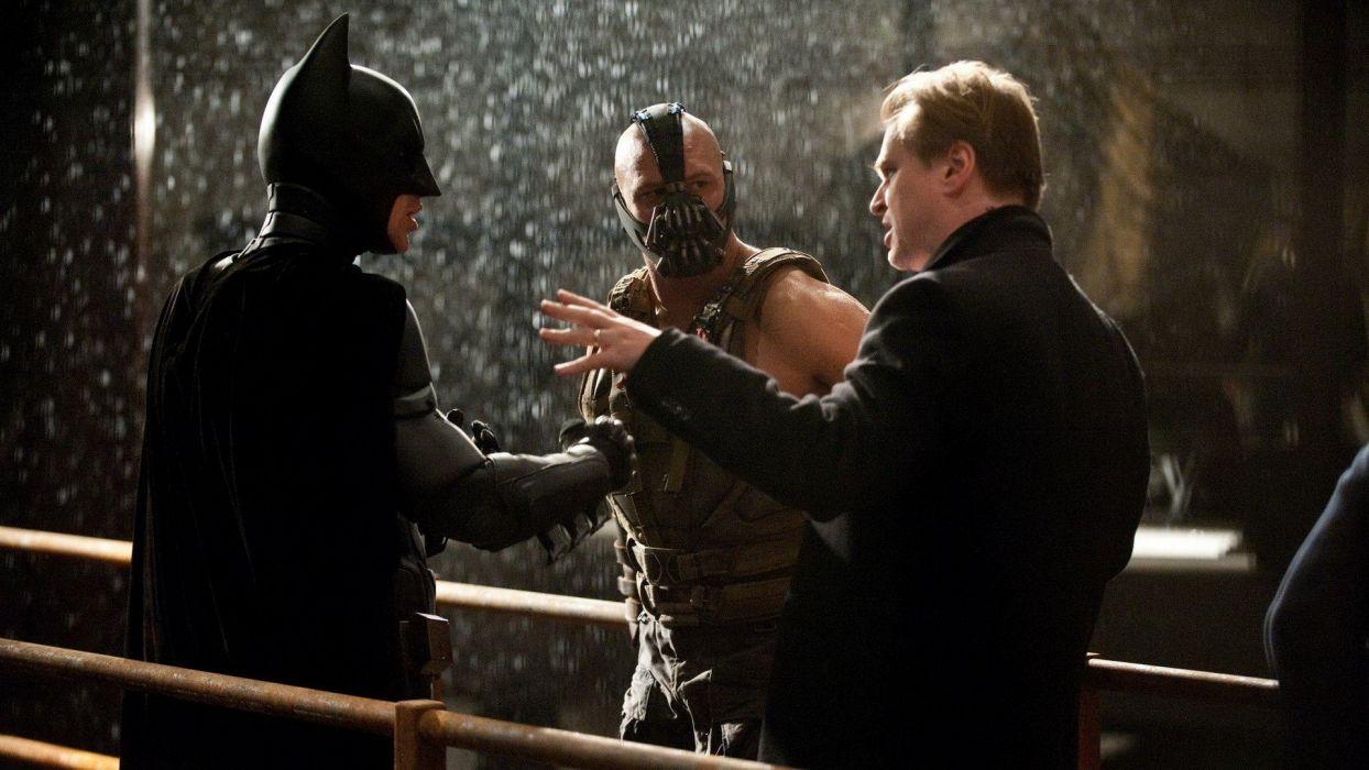 Batman Bane Tom Hardy hero Batman The Dark Knight Rises Christopher Nolan Set Photos wallpaper