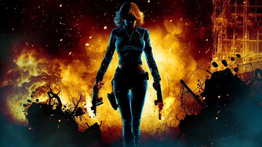 video games fantasy art Perfect Dark Joana Dark wallpaper