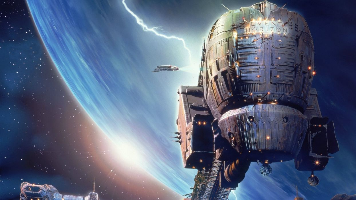 movies Event Horizon spaceships vehicles wallpaper