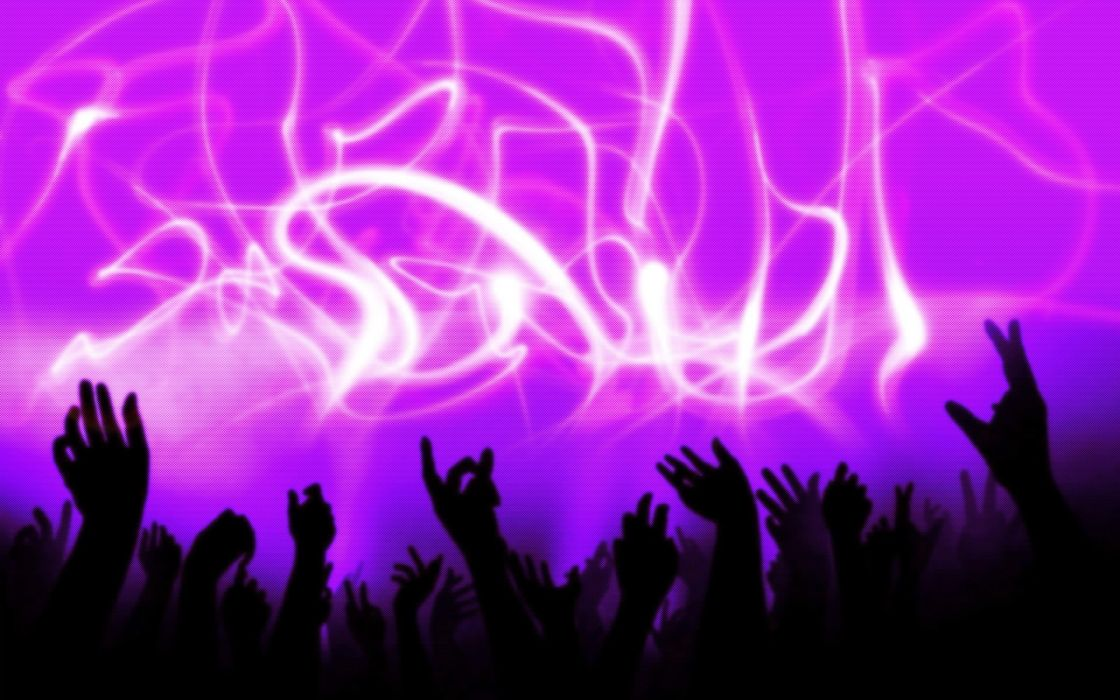 abstract lights hands party arms raised wallpaper