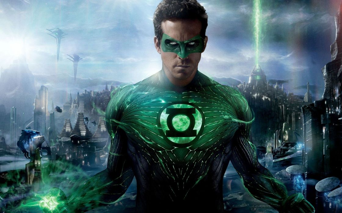 Green Lantern movies Ryan Reynolds Hal Jordan wallpaper