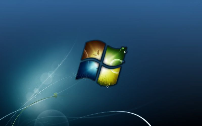 windows logo wallpaper