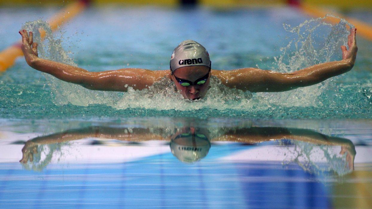 men swimming swimming pools wallpaper